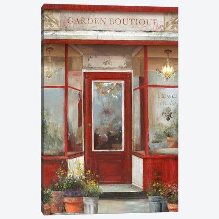 Flower Shop Canvas Print #AWI97} by Aimee Wilson Canvas Art