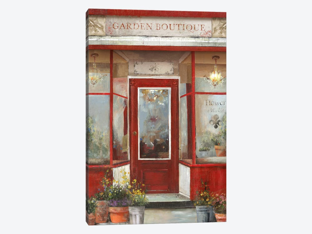 Flower Shop by Aimee Wilson 1-piece Canvas Artwork