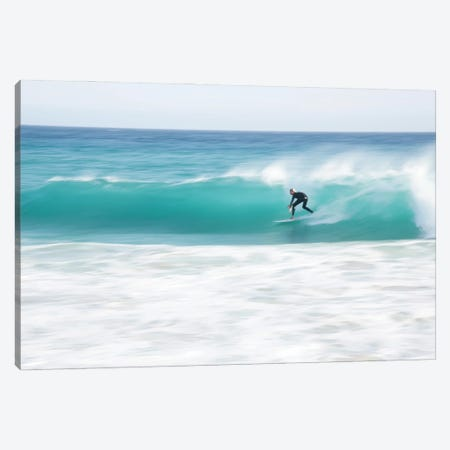 Into The Blue Canvas Print #AWL130} by Andrew Lever Canvas Art