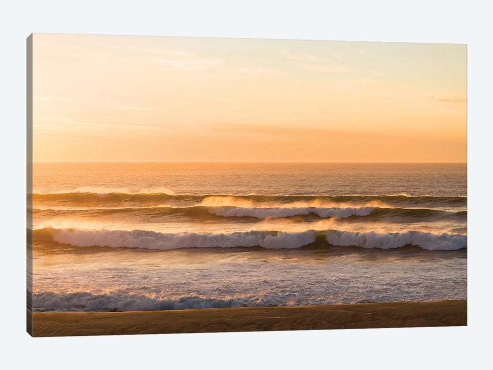 Golden Lines by Andrew Lever 1-piece Canvas Art