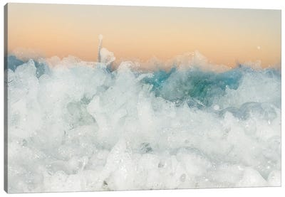 Champagne Water Canvas Art Print
