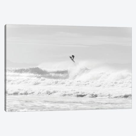 Jumping Surfer Canvas Print #AWL22} by Andrew Lever Art Print