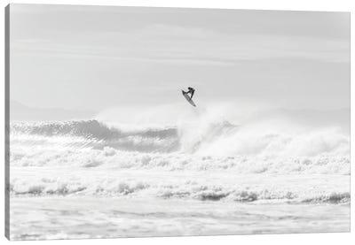 Jumping Surfer Canvas Art Print