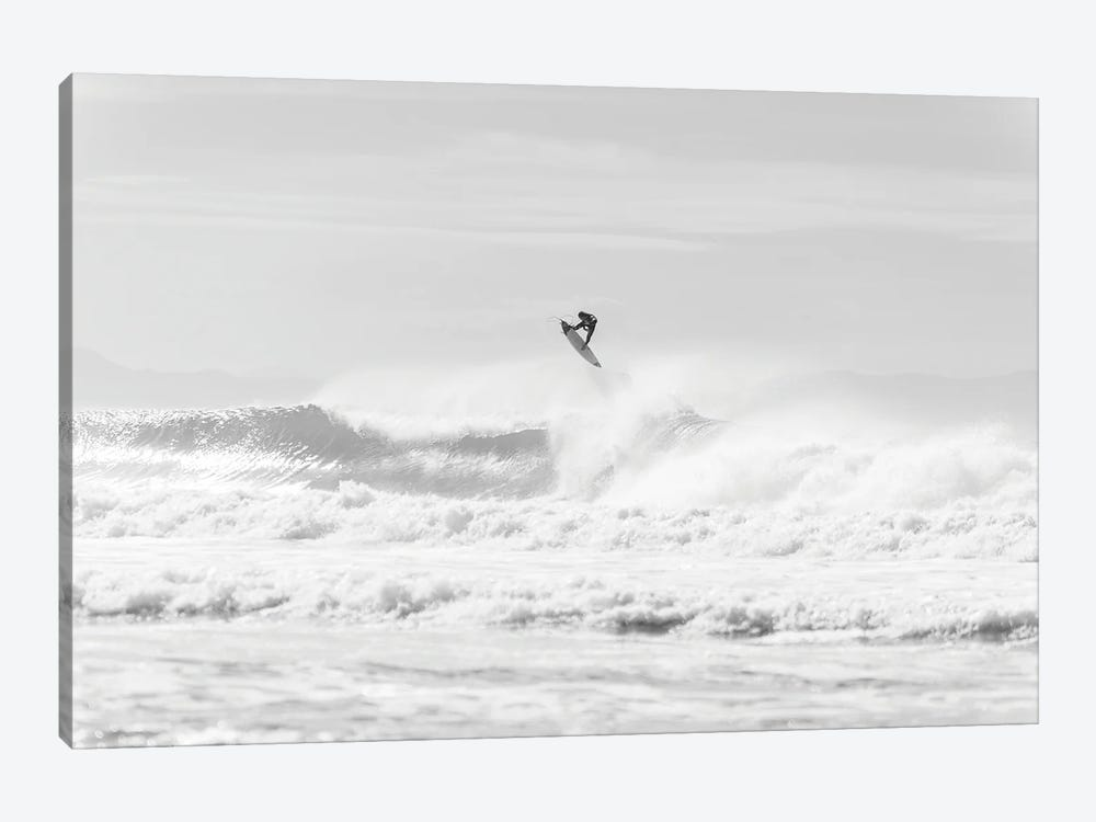 Jumping Surfer by Andrew Lever 1-piece Canvas Artwork