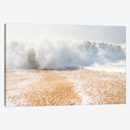 Shore Break Wave Canvas Print #AWL23} by Andrew Lever Canvas Print