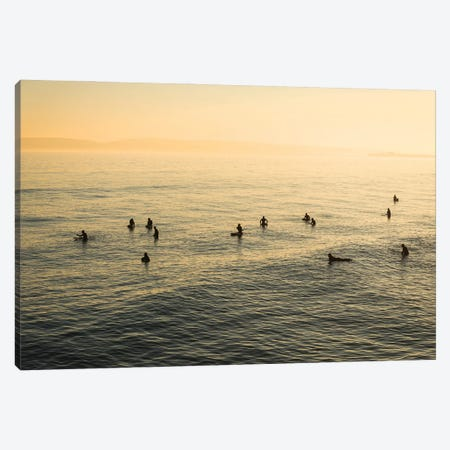Waiting For Waves Canvas Print #AWL24} by Andrew Lever Canvas Art