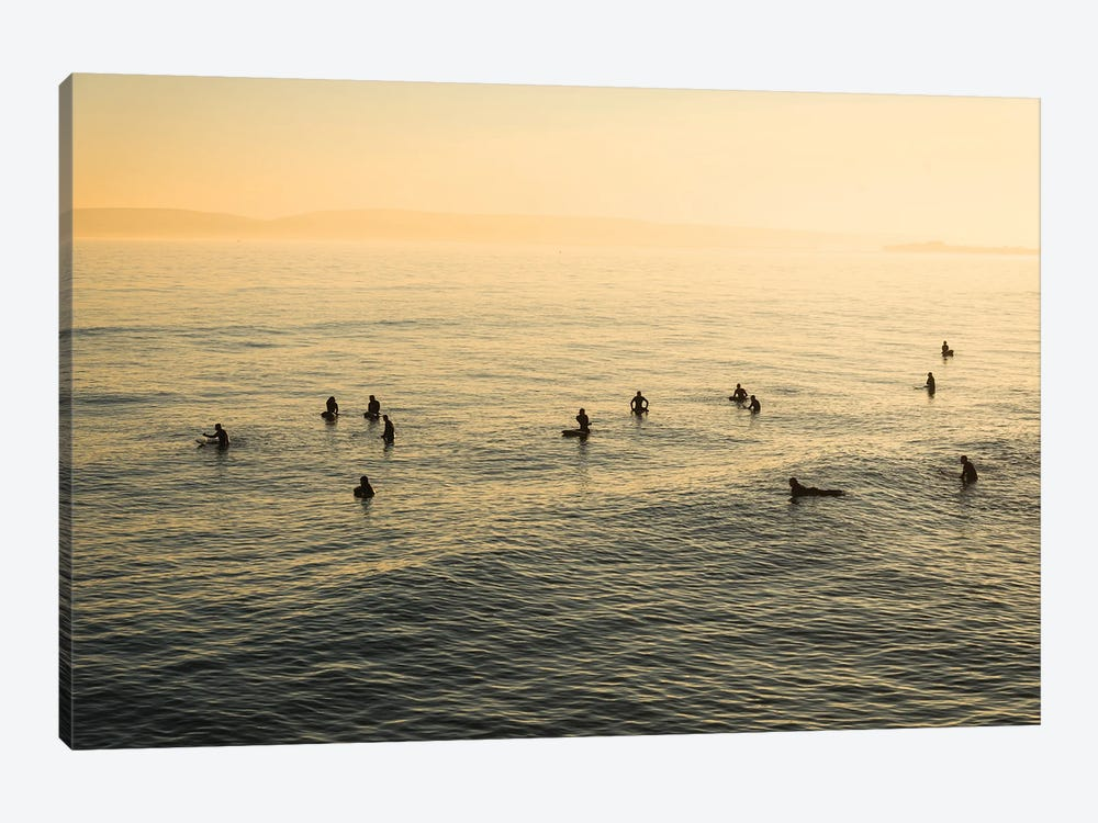 Waiting For Waves by Andrew Lever 1-piece Canvas Art