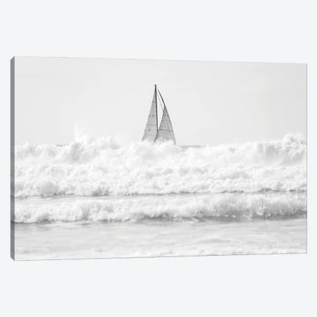 Sailing The Surf Canvas Print #AWL34} by Andrew Lever Canvas Print