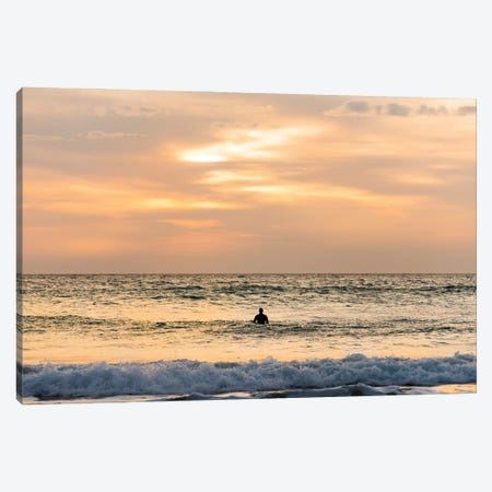 The Last Surf Canvas Print #AWL57} by Andrew Lever Canvas Art Print