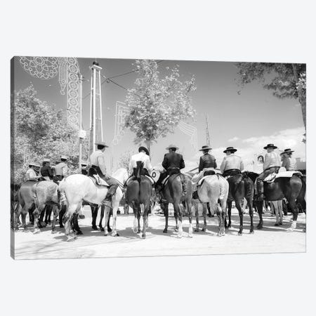 The Lineup Canvas Print #AWL58} by Andrew Lever Canvas Wall Art