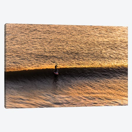 The Last Wave Canvas Print #AWL63} by Andrew Lever Art Print