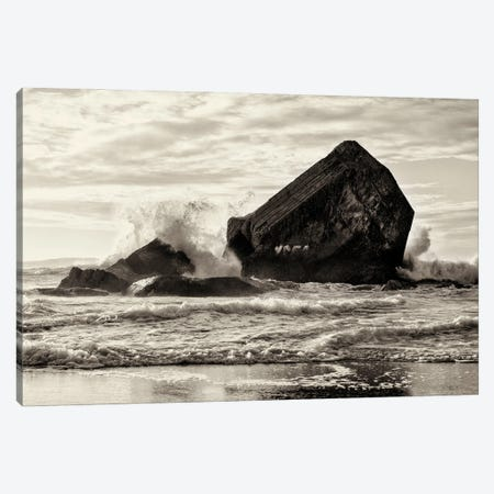 Sea Bunkers Canvas Print #AWL66} by Andrew Lever Canvas Artwork