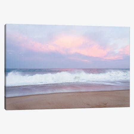Lilac Sunrise Canvas Print #AWL67} by Andrew Lever Canvas Wall Art