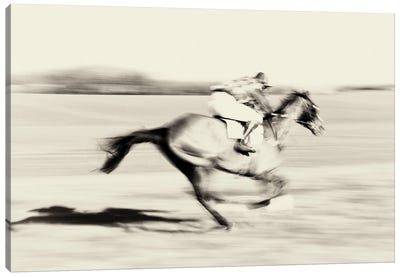 A Day At The Races II Canvas Art Print