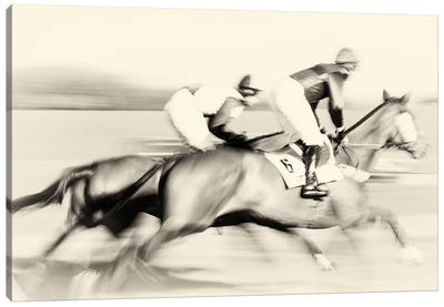A Day At The Races Canvas Art Print