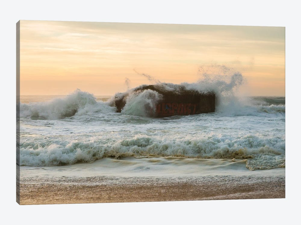 Sea Bunker by Andrew Lever 1-piece Art Print