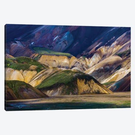 Landmannalaugar Mountains, Iceland Canvas Print #AWO19} by Art Wolfe Canvas Print