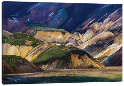 Landmannalaugar Mountains, Iceland Canvas Art Print