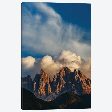 Mountain peaks, Dolomites, Italy Canvas Print #AWO23} by Art Wolfe Canvas Artwork