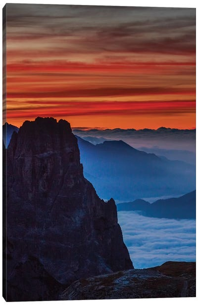 South Tyrolean Dolomites, Italy Canvas Art Print