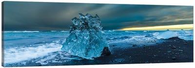 Bergy bits, Iceland I Canvas Art Print