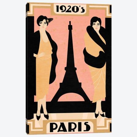 1920's Paris II Canvas Print #AWR100} by Annie Warren Canvas Art Print