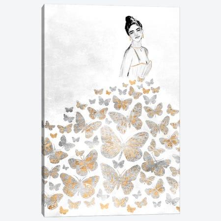 Fluttering Gown I Canvas Print #AWR105} by Annie Warren Canvas Art
