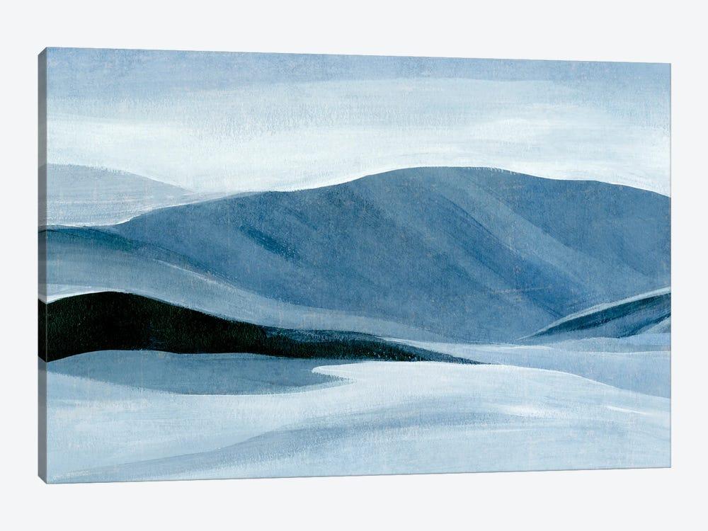 Indigo Range I by Annie Warren 1-piece Canvas Art Print