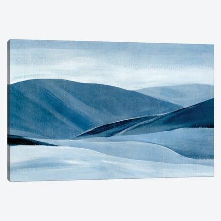 Indigo Range II Canvas Print #AWR118} by Annie Warren Canvas Wall Art