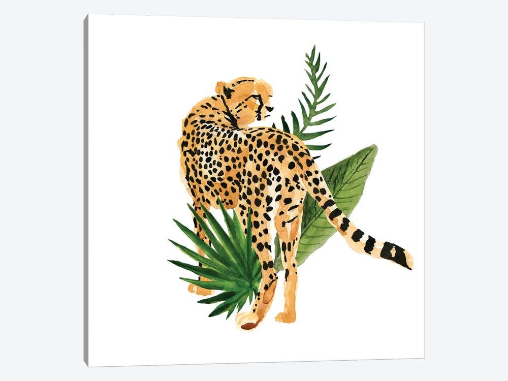 Cheetah Outlook III by Annie Warren 1-piece Canvas Art