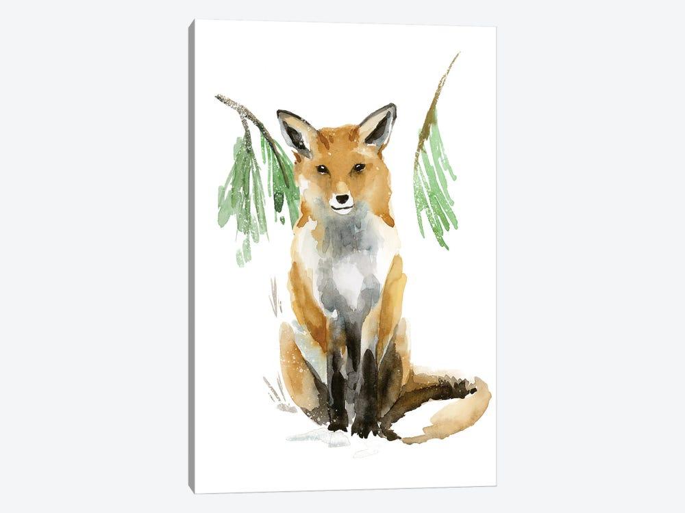 Snowy Fox I by Annie Warren 1-piece Art Print