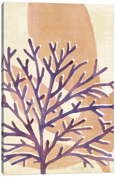 Chromatic Sea Tangle IV Canvas Art Print