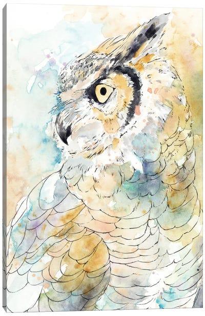 Owl Majestic I Canvas Art Print