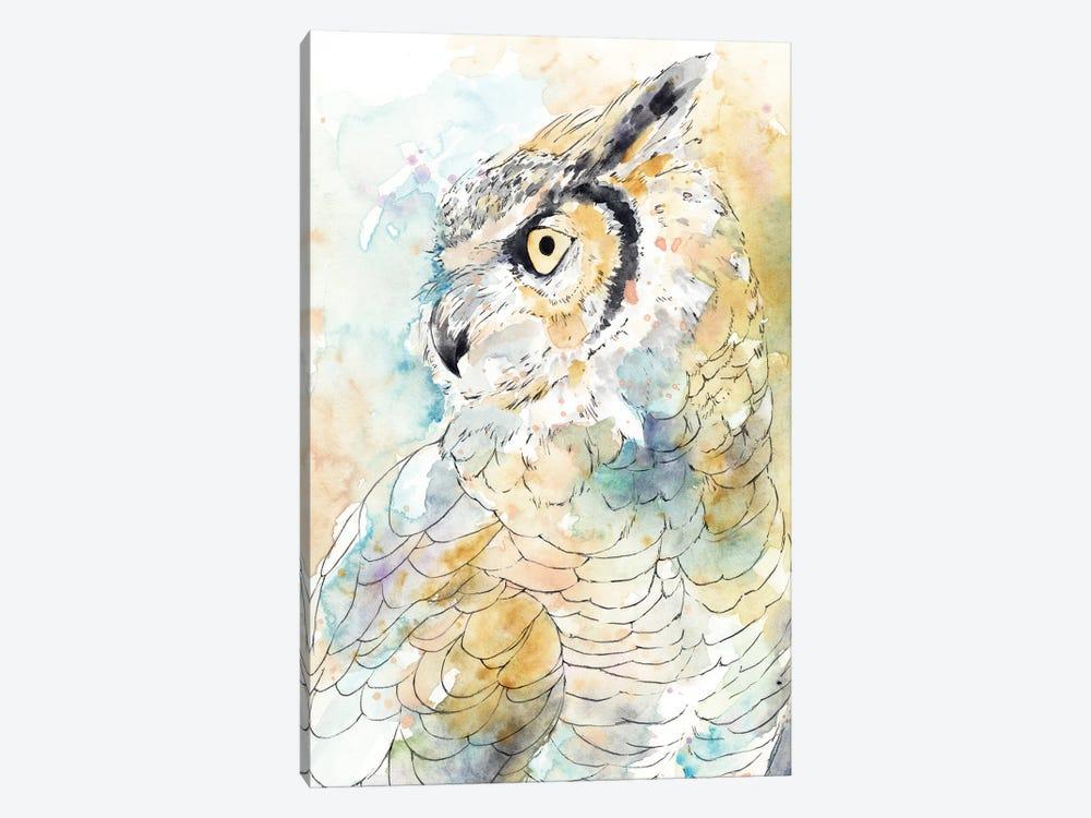 Owl Majestic I by Annie Warren 1-piece Canvas Art Print