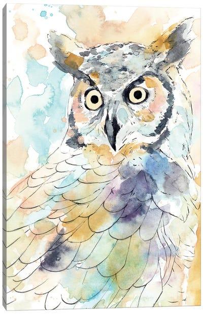 Owl Majestic II Canvas Art Print