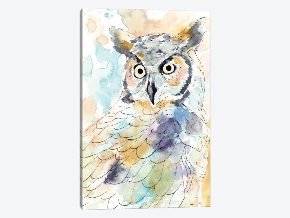 Owl Majestic II by Annie Warren 1-piece Canvas Artwork