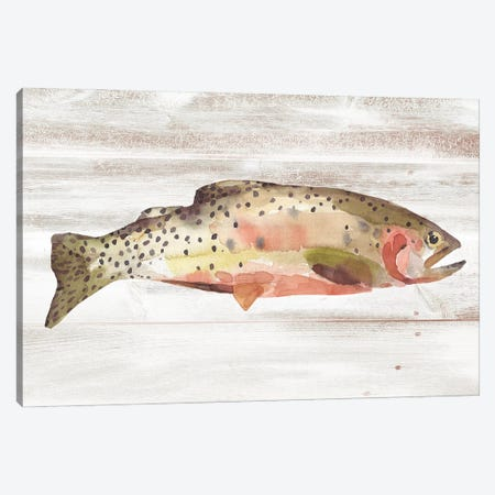 Spotted Trout II Canvas Print #AWR149} by Annie Warren Canvas Art Print