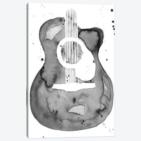 Guitar Flow I Canvas Print #AWR14} by Annie Warren Canvas Art Print