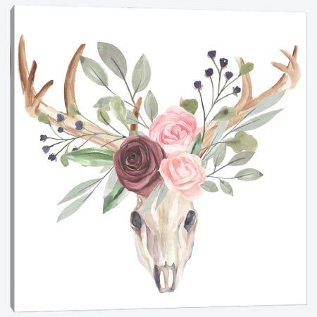 Branched Posy II Canvas Print #AWR160} by Annie Warren Canvas Print