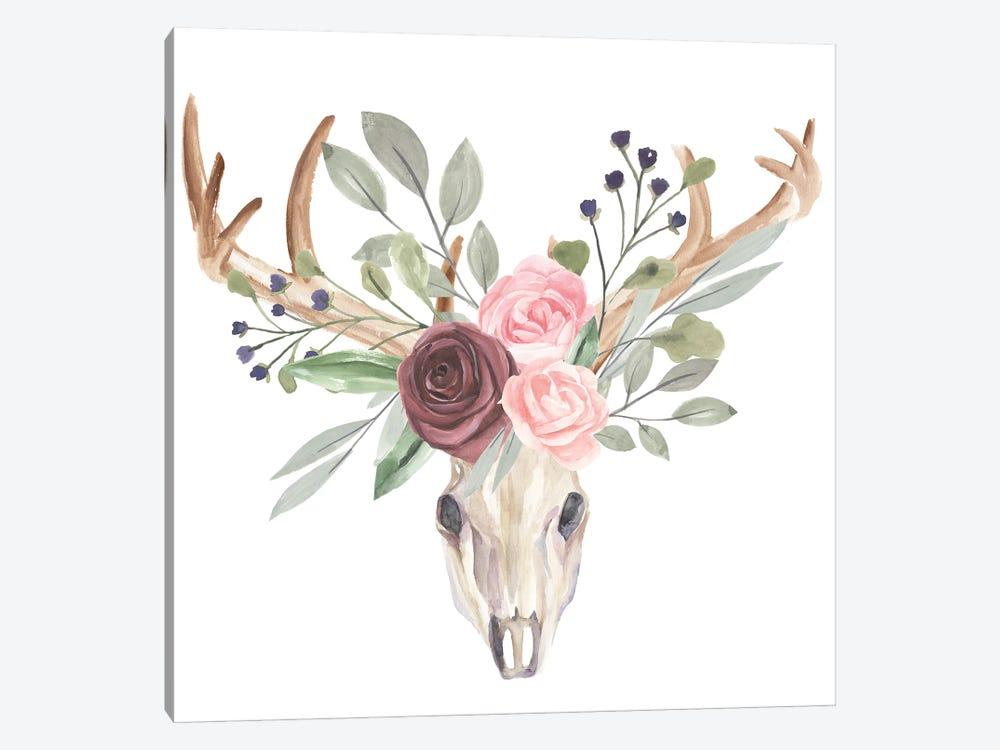 Branched Posy II by Annie Warren 1-piece Canvas Art Print