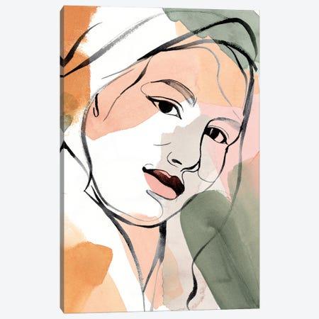 Earthly Angels I Canvas Print #AWR164} by Annie Warren Canvas Art
