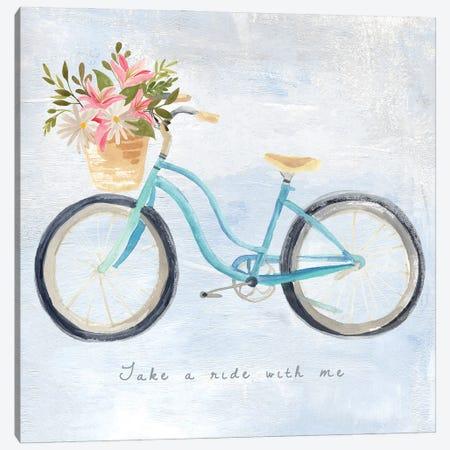 Enjoy the Ride II Canvas Print #AWR169} by Annie Warren Art Print
