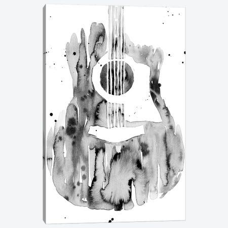 Guitar Flow III Canvas Print #AWR16} by Annie Warren Canvas Art Print