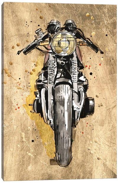 Metallic Rider I Canvas Art Print