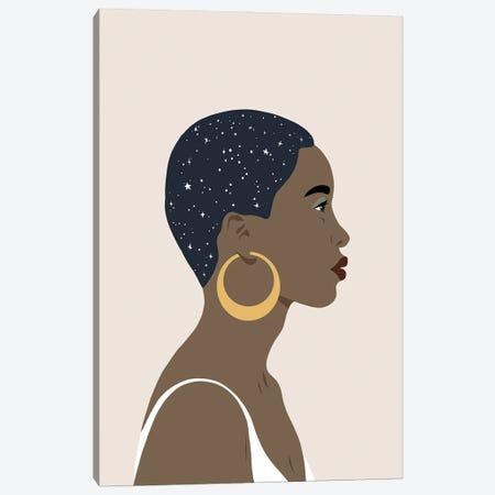 Heavenly Hair IV Canvas Print #AWR180} by Annie Warren Canvas Print