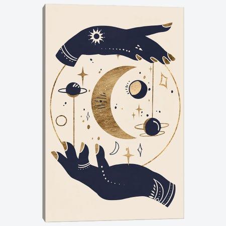 Moon Hands I Canvas Print #AWR183} by Annie Warren Canvas Art Print