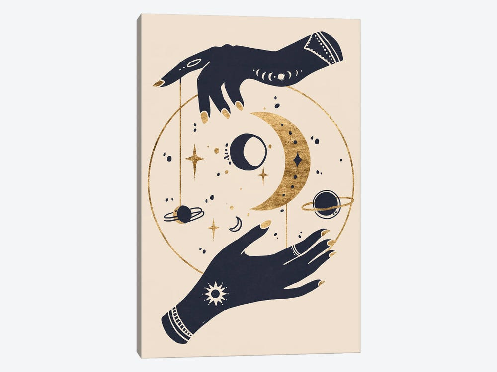 Moon Hands II by Annie Warren 1-piece Art Print