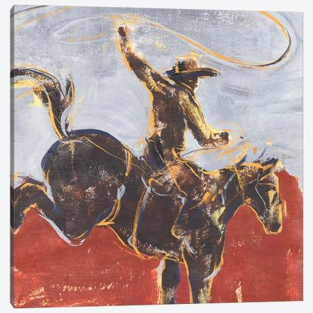 Morning Roundup I Canvas Print #AWR185} by Annie Warren Canvas Artwork