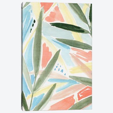 Tropical Impression II Canvas Print #AWR200} by Annie Warren Canvas Wall Art