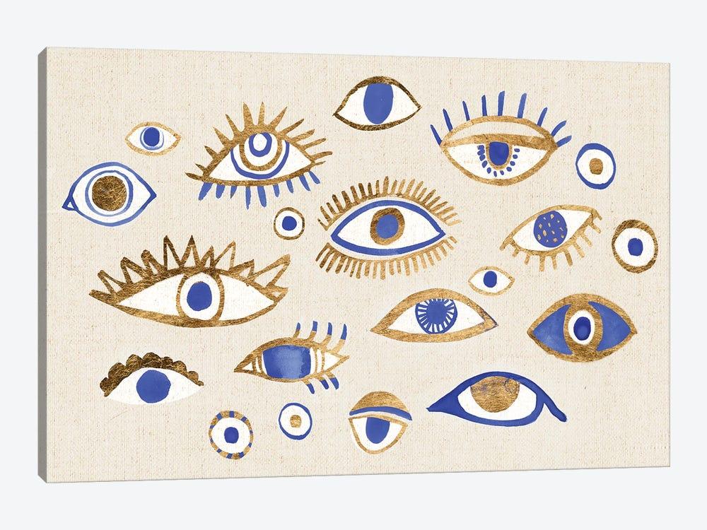 Weave Of Intuition II by Annie Warren 1-piece Canvas Art Print